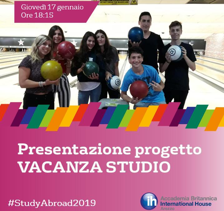 Vacanza studio 2019