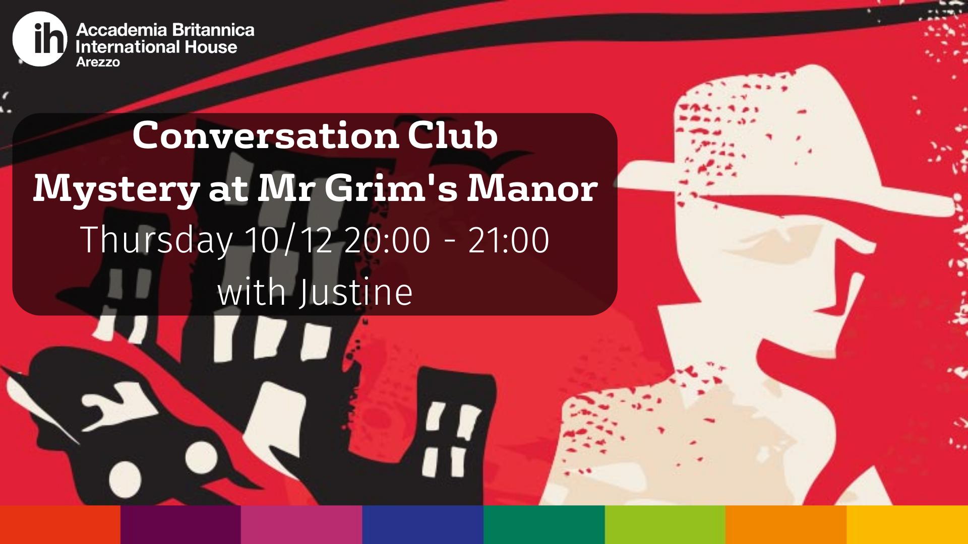Conversation Club 10.12.20 | Accademia Britannica IH Arezzo