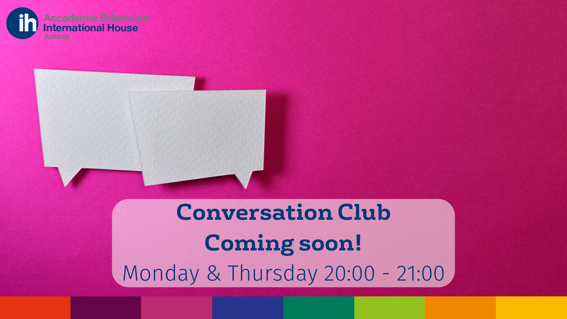 Conversation Club | Coming soon!