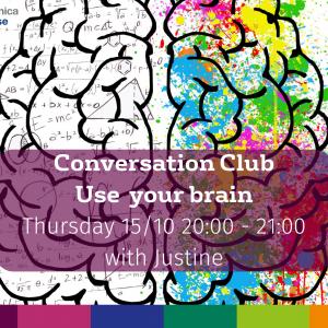 Conversation Club 15.10   Accademia Britannica IH Arezzo