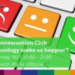 Conversation Club 18.1.21