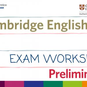 B1 Preliminary Exam Workshop